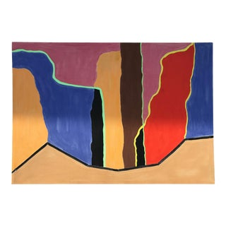 "Original Abstract ""Corridor Falls"" Painting by Myron Greene For Sale"