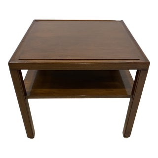 Mid-Century Modern Edward Wormley for Dunbar Furniture Tiered Side Table For Sale