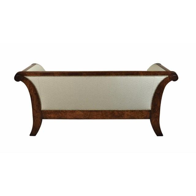2000's William Switzer Classic Austrian Biedermeier Style Sofa For Sale - Image 9 of 10