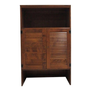 Ethan Allen Nutmeg Heirloom CRP Cabinet