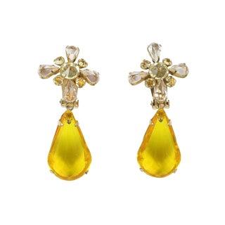 Lemon Drop Earrings For Sale