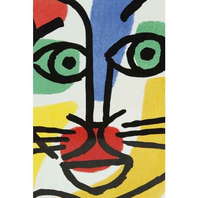 Late 20th Century Set of Three Post Modern Celestino Piatti Ceramic Art Tiles For Sale - Image 5 of 10