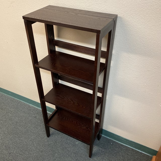Folding Bookcase For Sale - Image 4 of 11