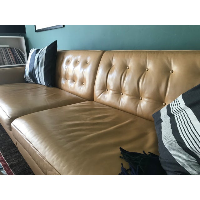"Mid-Century Modern Wells 89"" Sofa From Room and Board For Sale - Image 3 of 13"