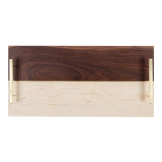 Modern Rectangle Service Tray For Sale