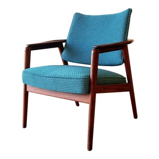 Newly-Upholstered Knut Sæter Armchair for Vatne Lenestolfabrik For Sale