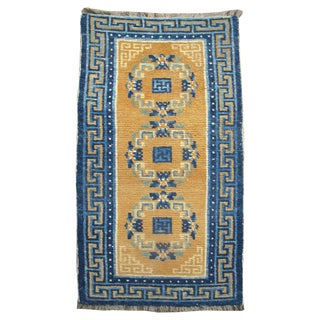 Tibetan Rug in Thick Wool For Sale