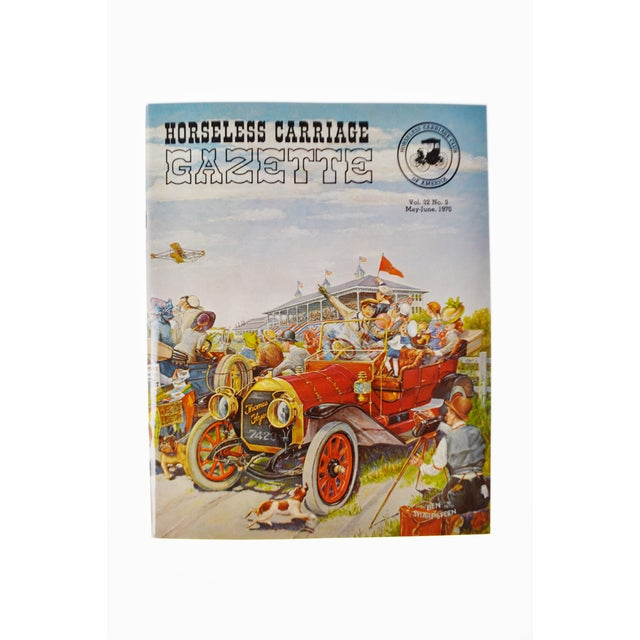 Horseless Carriage Gazette Magazines - 1970 Full Year - Collectible - Image 5 of 10