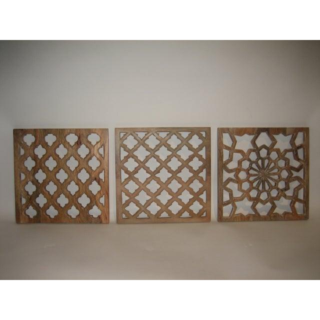 Decorative Wood Panels - Set of 3 - Image 2 of 11
