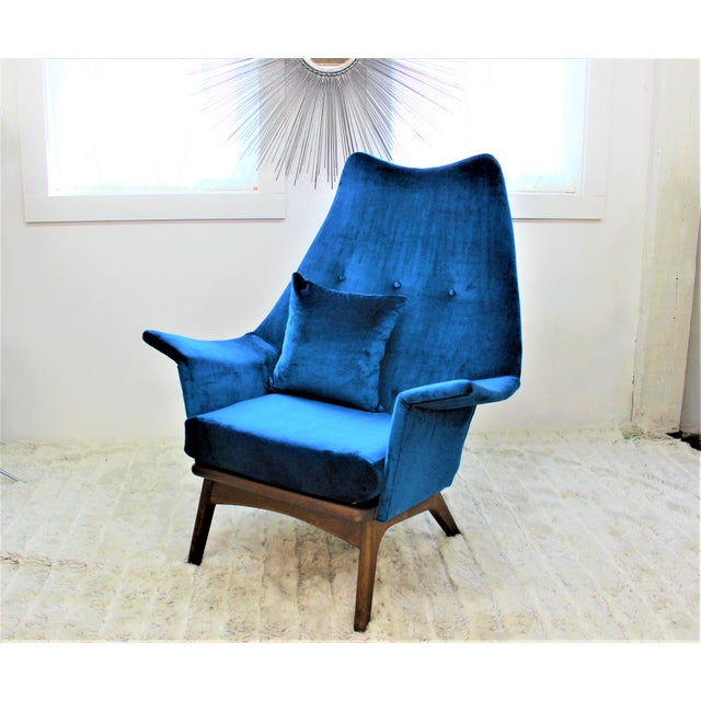 Mid Century Modern Adrian Pearsall Chair 1611-C - Image 3 of 6