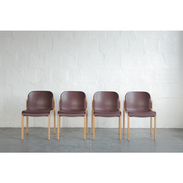 Vintage Stackable Bentwood and Plastic Thonet Chairs- a Pair For Sale In Portland, OR - Image 6 of 6
