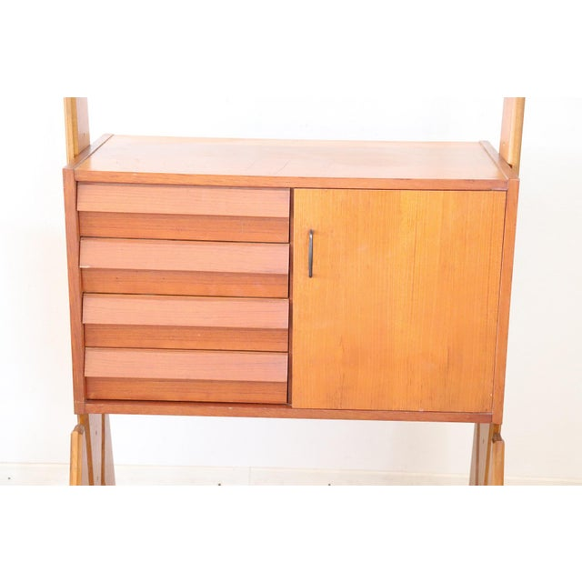 20th Century Italian Vintage Design Bookcase, 1970s For Sale - Image 6 of 11