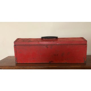 Vintage Red Tool Box Preview