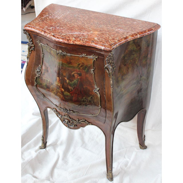"""Louis XV Style """"Vernis Martin"""" Cabinet - Image 9 of 10"""