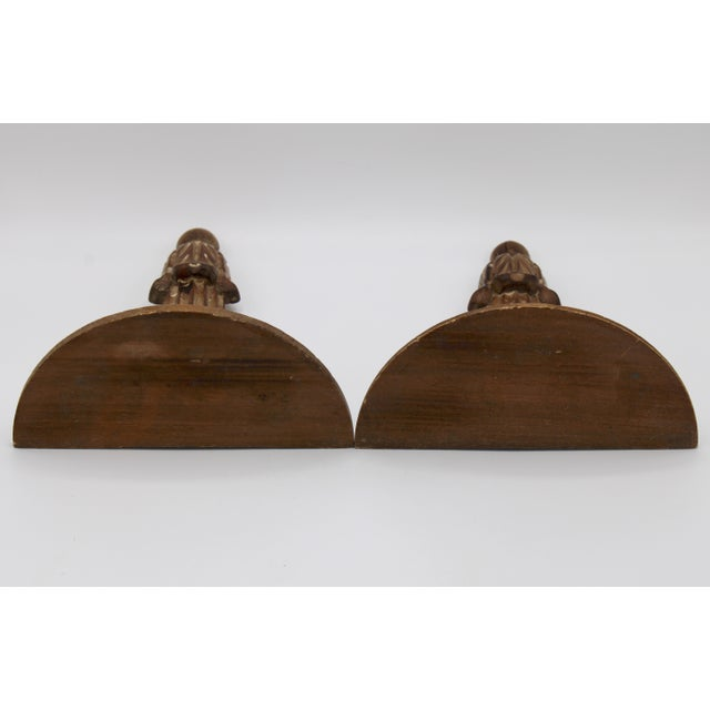 Italian Wooden Wall Shelves - a Pair For Sale - Image 9 of 10