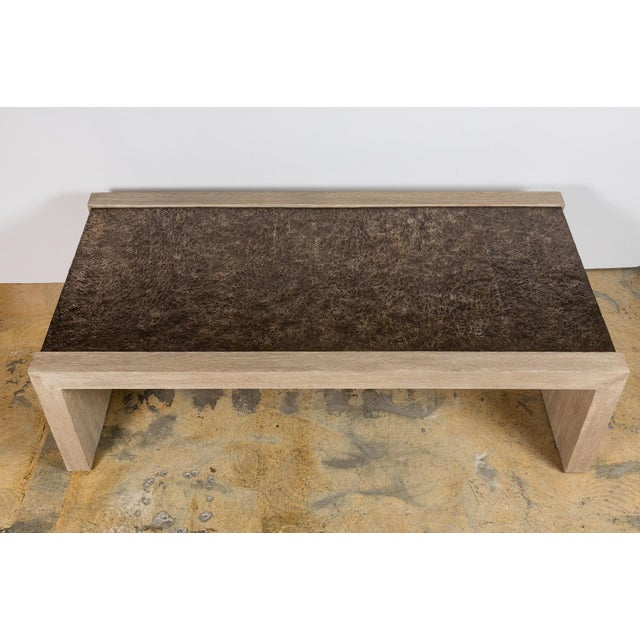 Paul Marra Modern Paul Marra Waterfall Table For Sale - Image 4 of 10