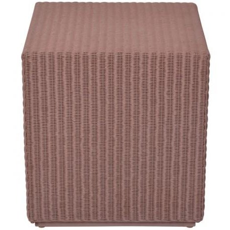 Janus et cie deauville cube table or stool chairish for Cie 85 table 4