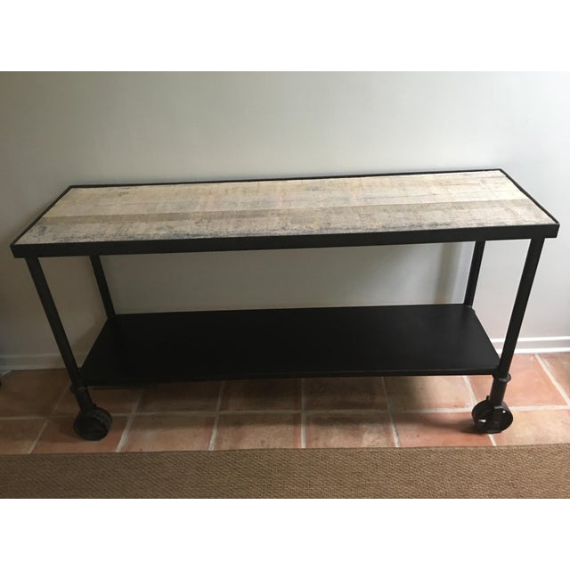 HD Buttercup Rustic Console Table - Image 2 of 7
