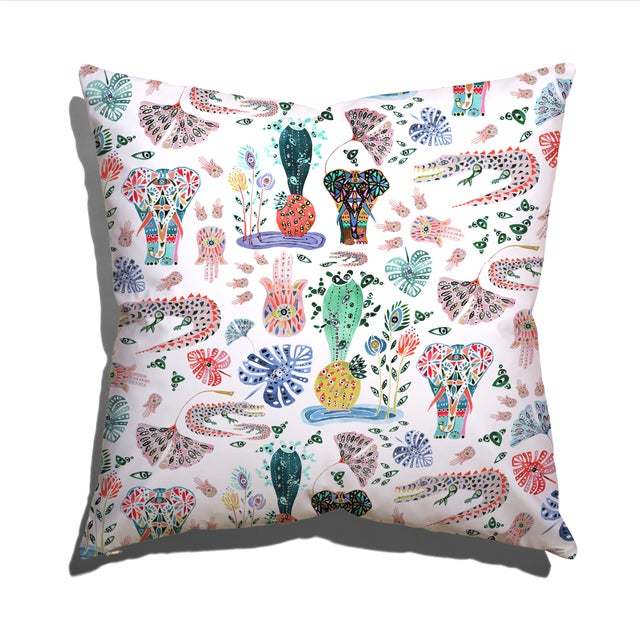 """Modern Pepper Balzary 22"""" Pillow For Sale - Image 3 of 3"""