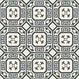 Image of Celerie Kemble Gingko Ink Hardwood Tile - 1 Box, 14 Tiles For Sale