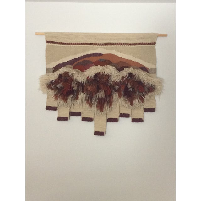 Vintage Bingaman Textile/Fiber Art/Macramé For Sale - Image 10 of 10