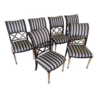Dorothy Draper for Henredon Dining Chairs - Set of 6 For Sale