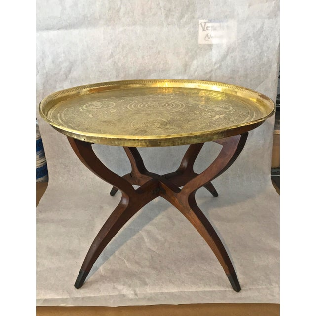 Mid Century Moorish Side Table For Sale - Image 10 of 10