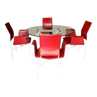 Matteo Grassi Table and Chairs For Sale