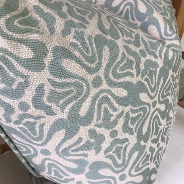 Galbraith & Paul Linen Pillows - A Pair For Sale - Image 4 of 6