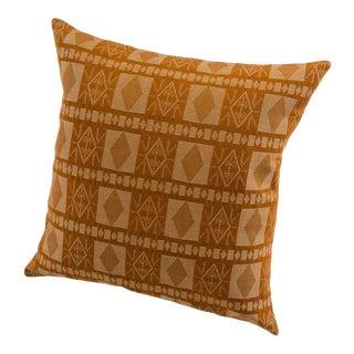 Handwoven Katsina Pillow in Red River Saffron For Sale