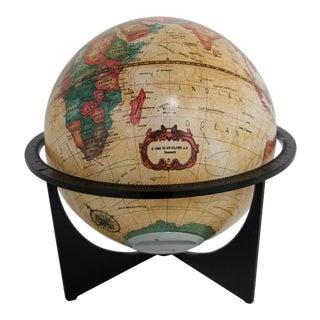 Vintage 1990's Scan-Globe Denmark Desk Globe Bank For Sale