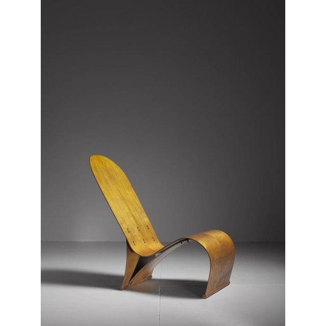 Thaden-Jordan Furniture Co. Herbert Von Thaden Bent Plywood Lounge Chair, USA, 1940s For Sale - Image 4 of 10