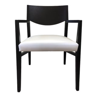 Natuzzi Brera Arm Dining Chair For Sale