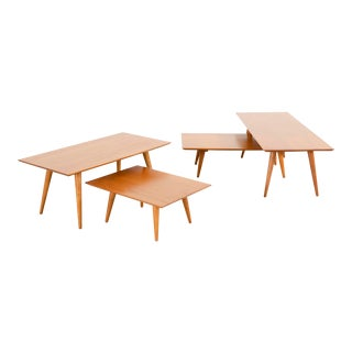 Paul McCobb Planner Group Mid-Century Modern Table Grouping For Sale