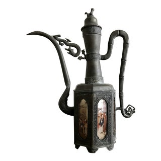 Antique Frederick Cooper Oil Lamp For Sale