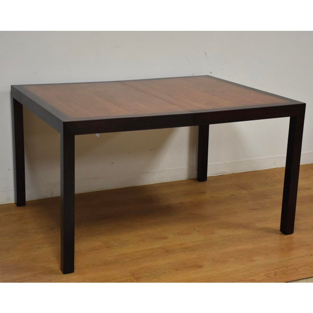 Brown Edward Wormley for Dunbar Mahogany and Walnut Dining Table For Sale - Image 8 of 11