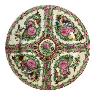 Vintage Rose Medallion Plate For Sale
