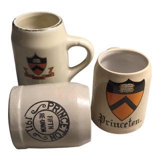 Vintage Princeton Reunion Mugs - Set of 3