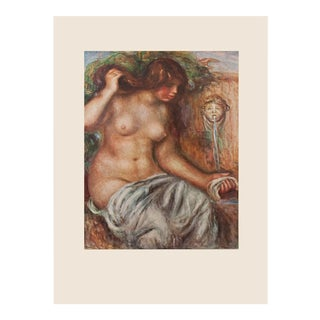 "1950s Auguste Renoir ""Woman at the Fountain"" First Edition Photogravure For Sale"