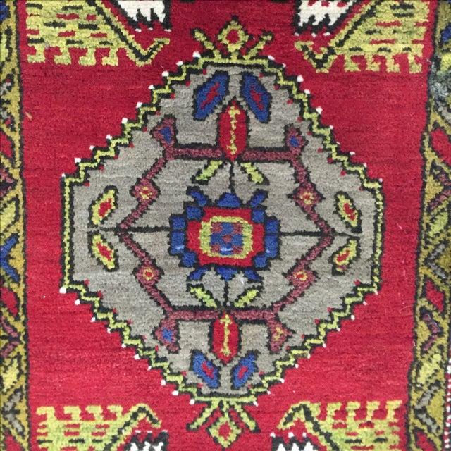 Anatolian Persian Rug - 1′7″ × 3′1″ - Image 6 of 7