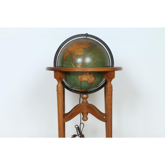 1940's Globe and Stand - Image 3 of 7