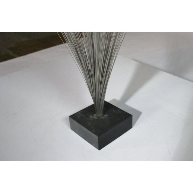 Mid-Century Modern Harry Bertoia Style Spray Sculpture For Sale - Image 3 of 4
