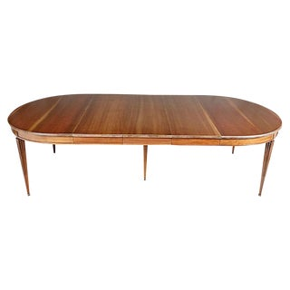 1950s Kindel Cherry Dining Room Table For Sale