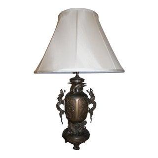 Bronze Dragon Table Lamp