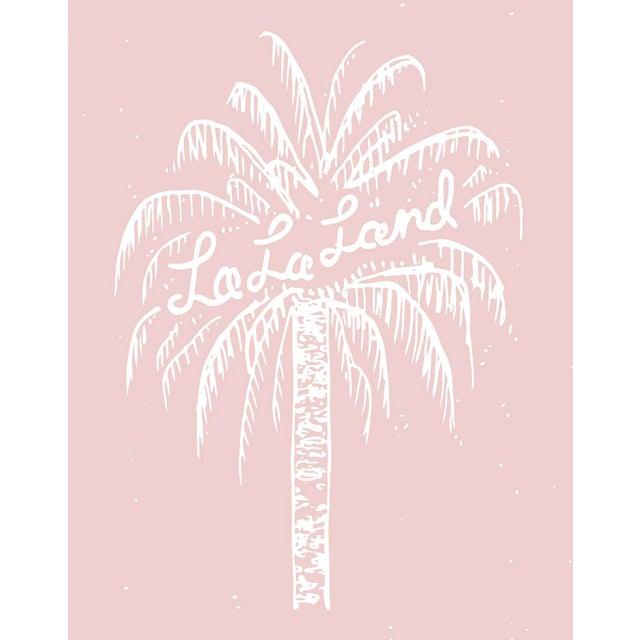 """La La Land"" Original 24x36 Illustration on Glossy Metallic Paper For Sale - Image 4 of 5"