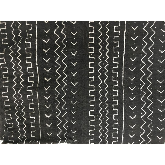 Authentic African Mud Cloth Fabric - Image 3 of 3
