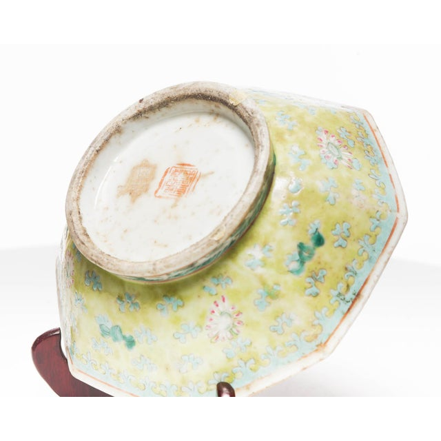 18th Century Chinese Famille Rose Bowl For Sale In Seattle - Image 6 of 7