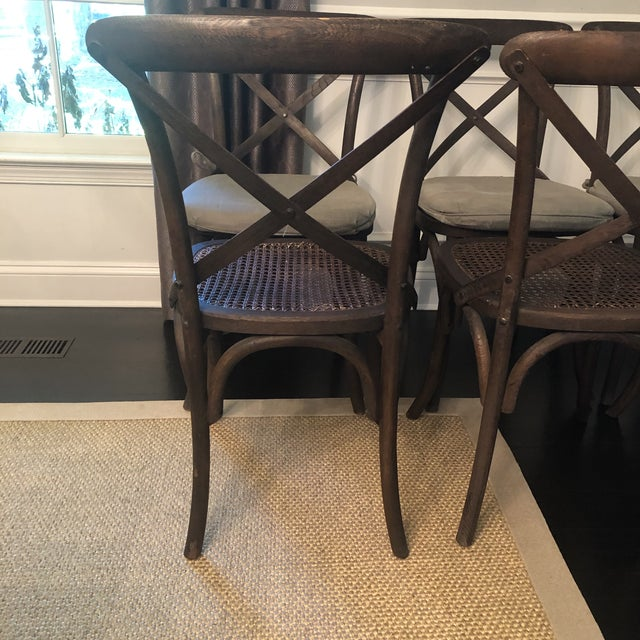 Thonet Styled Restoration Hardware Dining Chairs-Set of 6 For Sale - Image 10 of 13