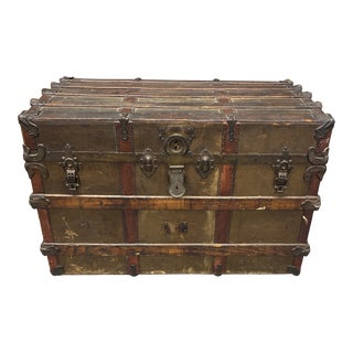 Early 20th-Century San Francisco Steam Trunk For Sale