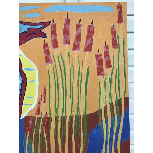 2010s Modern Original Farmer's Glimpse Painting by Myron Greene For Sale - Image 5 of 7